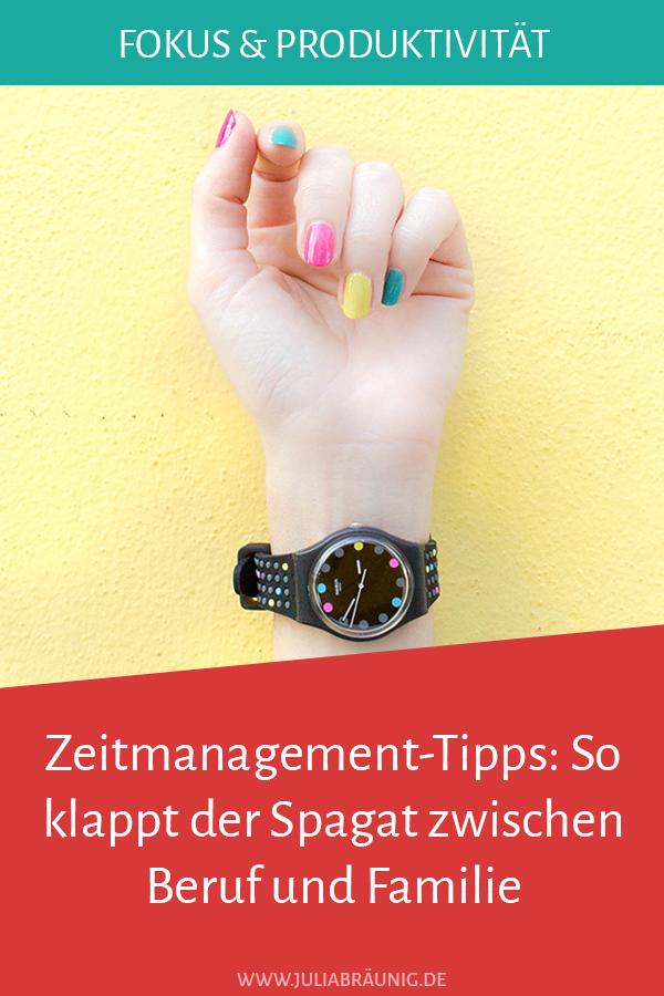 Zeitmanagement-Tipps: So klappt der Spagat zwischen Beruf und Familie