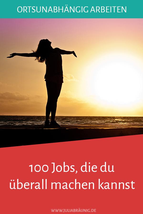 Ortsunabhängig arbeiten: 100 Jobs, die du überall machen kannst