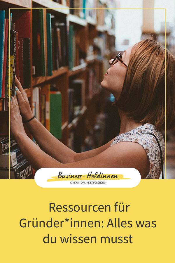 Ressourcen für Gründerinnen