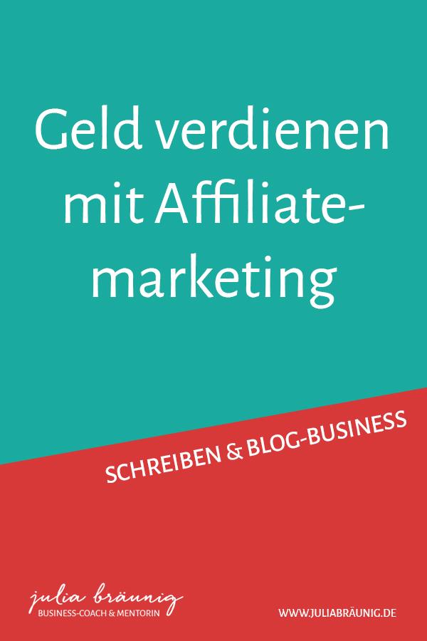 Blog-Business: Geld verdienen mit Affiliatemarketing
