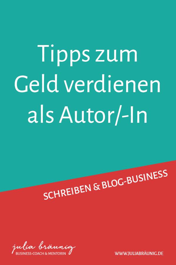 Blog-Business: Geld verdienen als Autorin