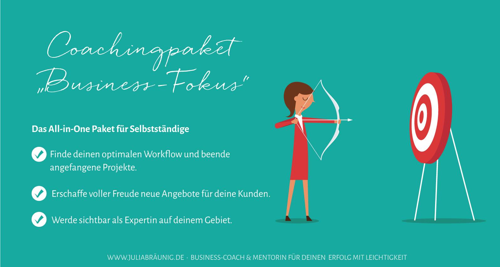 Business-Fokus Business-Coaching