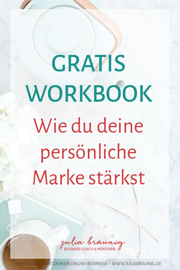 Gratis Workbook: Wie du deine persönliche Marke stärkst