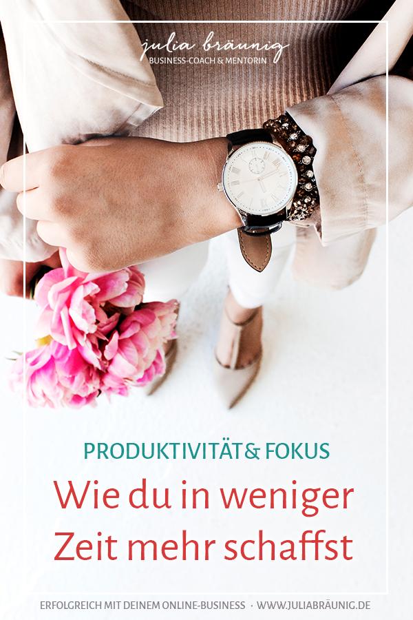 Wie du in weniger Zeit mehr schaffst: Meine Produktivitäts-Hacks