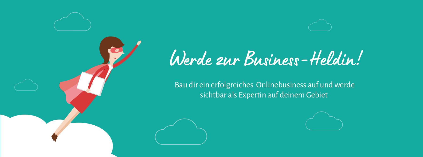 Business-Heldinnen Erfolgreiches Onlinebusiness