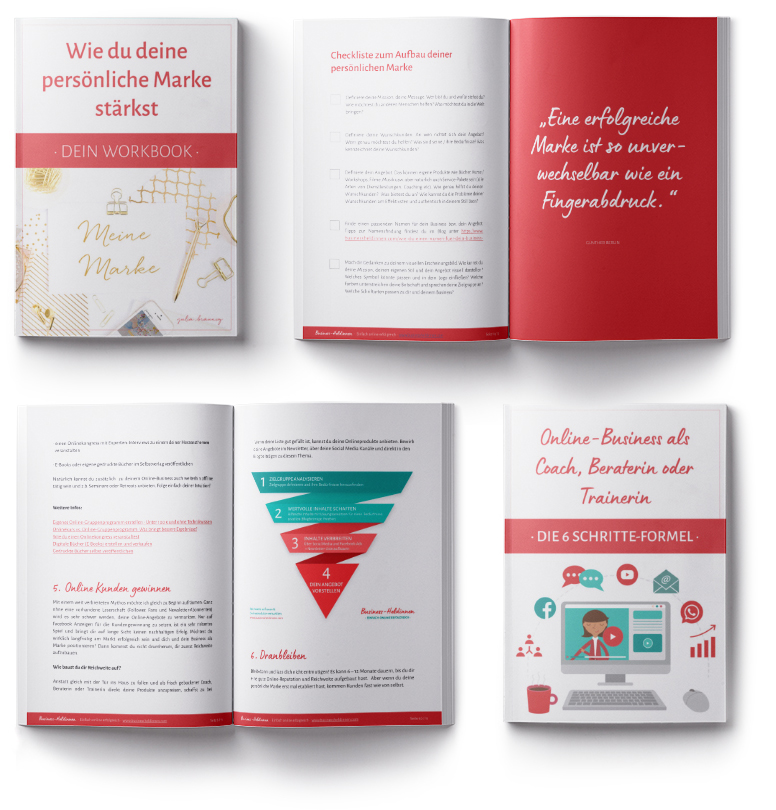 Kostenfreie Workbooks im Newsletter