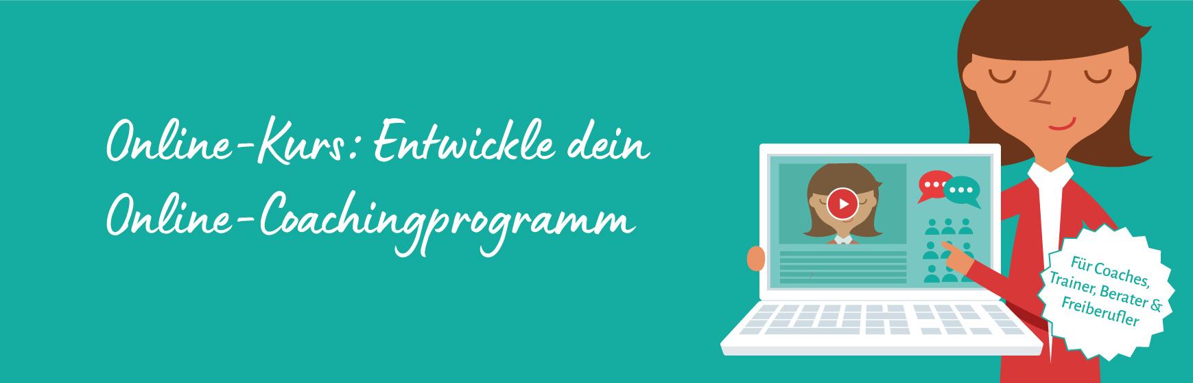 Entwickle dein eigenes Online-Coaching-Programm