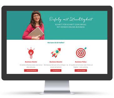 Webdesign für Business-Heldinnen