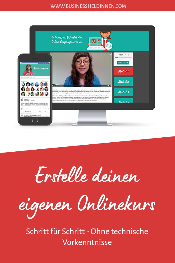 "Onlinekurs ""Passives Einkommen mit Onlinekursen"""