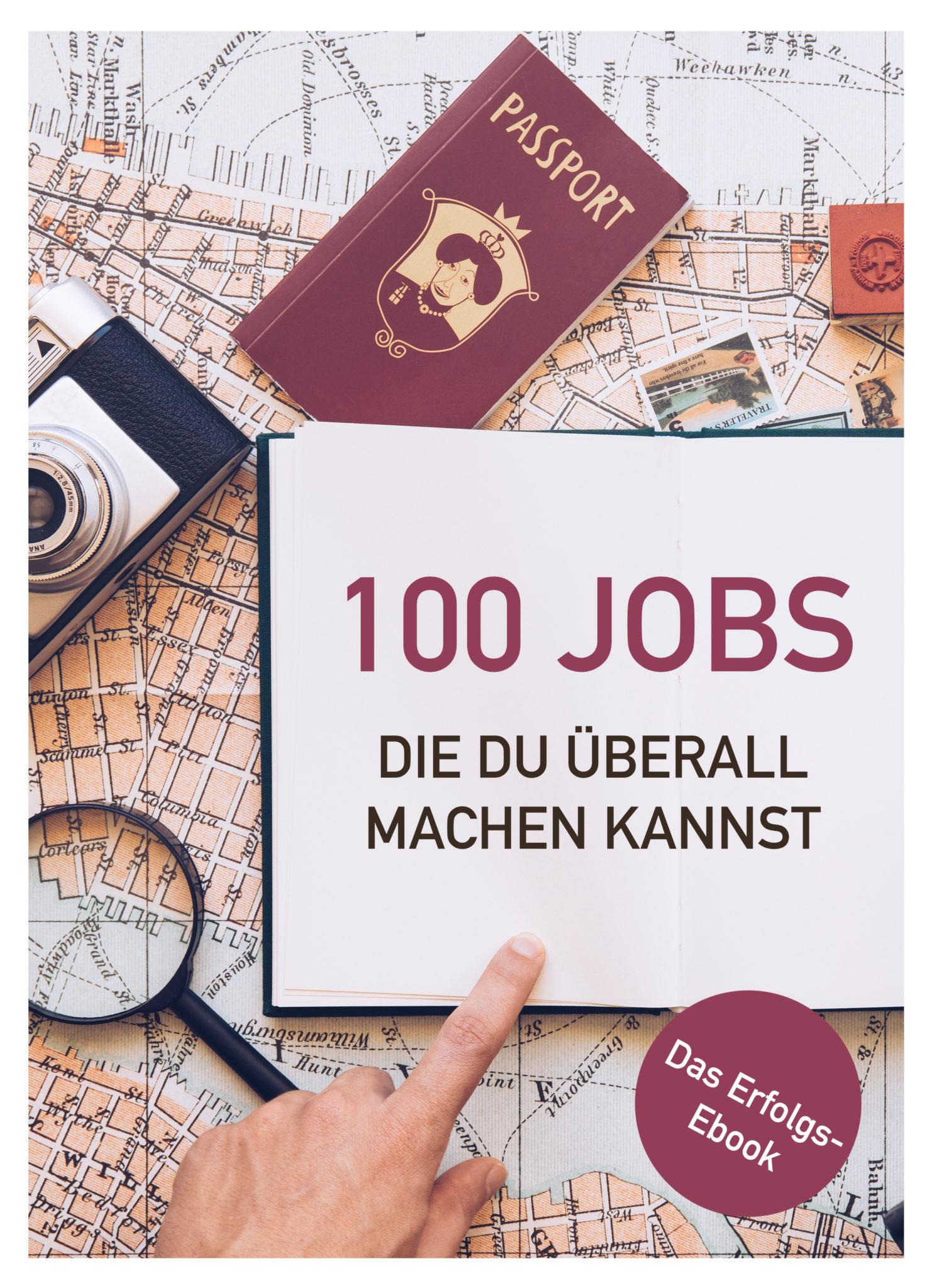 100 Jobs: Ortsunabhängig arbeiten
