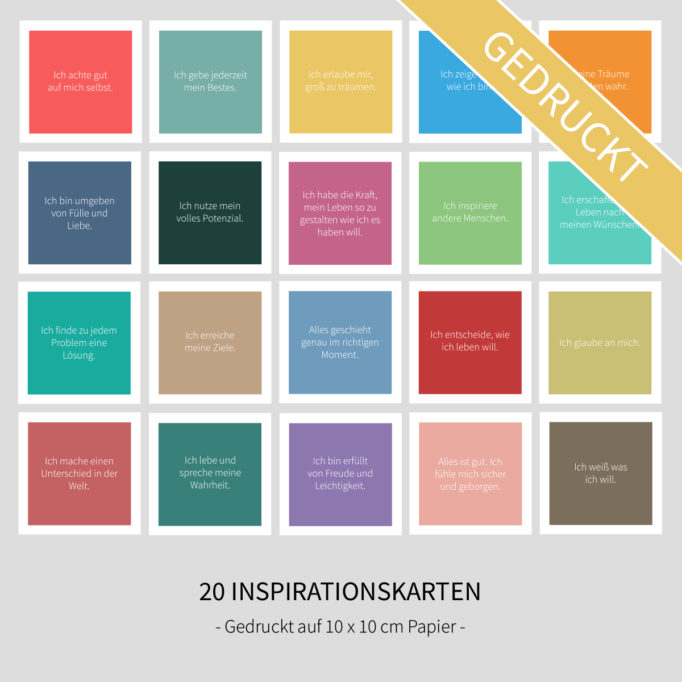 "Inspirationskarten – ""Colors"""