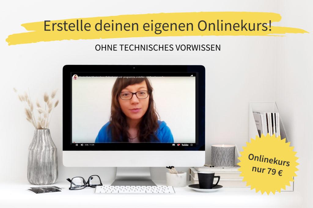 Erstelle deinen Onlinekurs