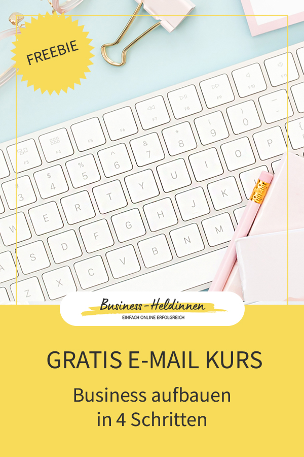 Gratis E-Mail-Kurs: