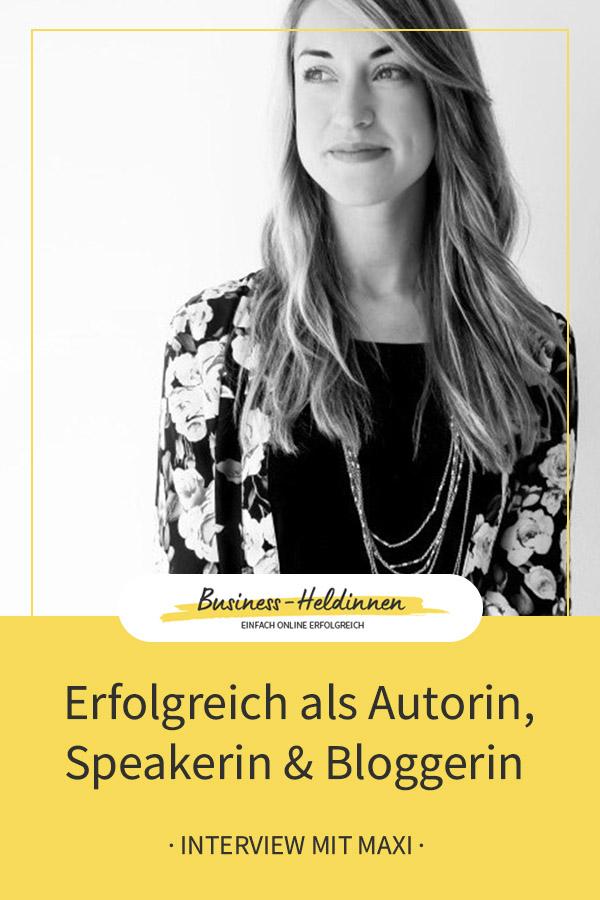 Ein Blick hinter die Kulissen von FEMPRENEUR, dem Businessmagazin für Frauen - Interview mit Maxi