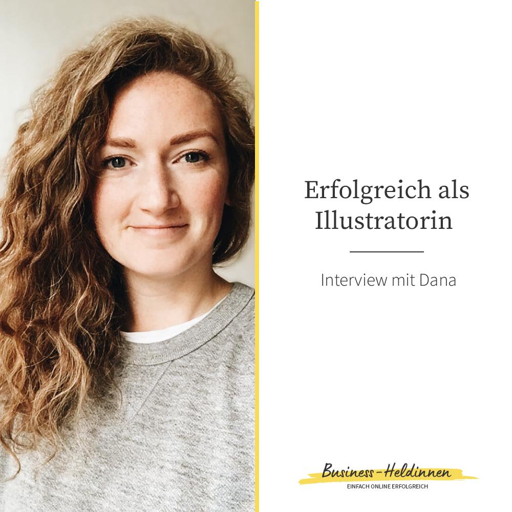 """Erfolgreich als freiberufliche Illustratorin: Im Gespräch mit Dana von """"Hello Danane"""""""