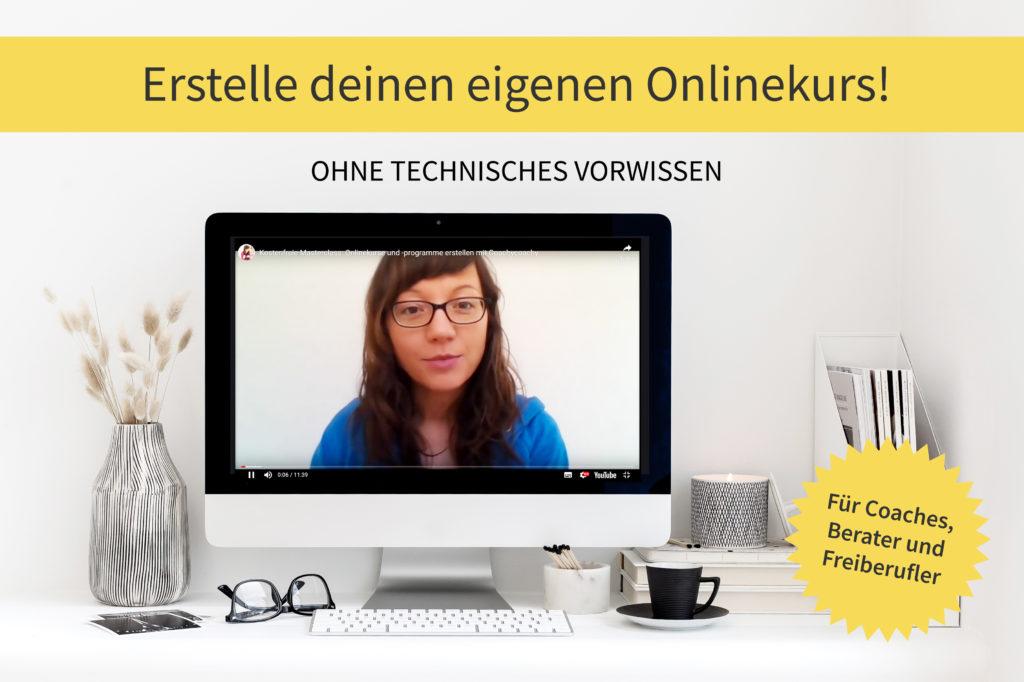 Erstelle deinen eigenen Onlinekurs