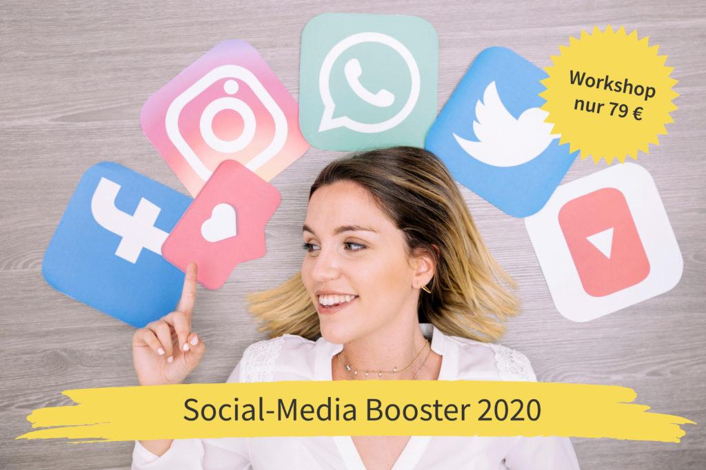 Social-Media Booster 2020 - Deine komplette Social-Media-Planung für 2020