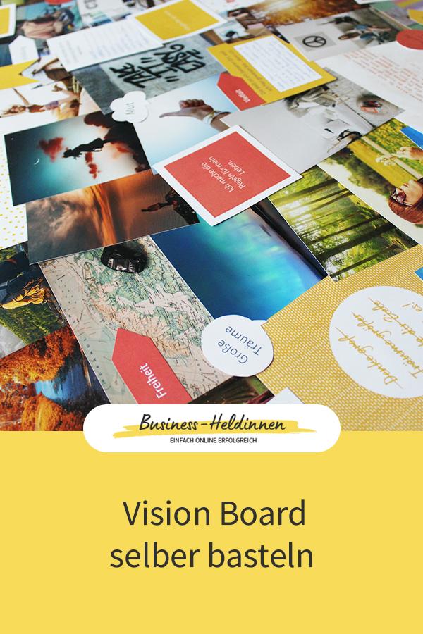 Wie dir ein Vision Board dabei helfen kann, deine Ziele zu erreichen