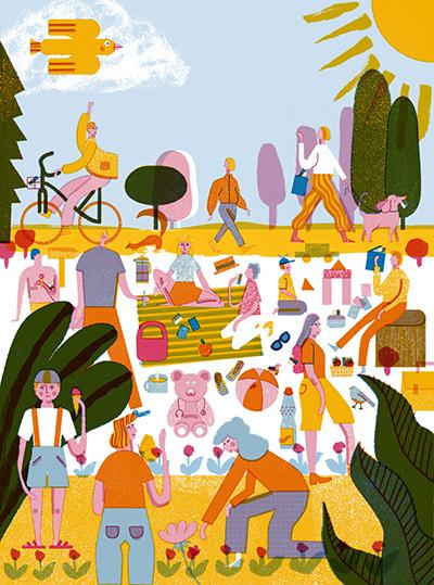 Illustration von Barbara Dziadosz