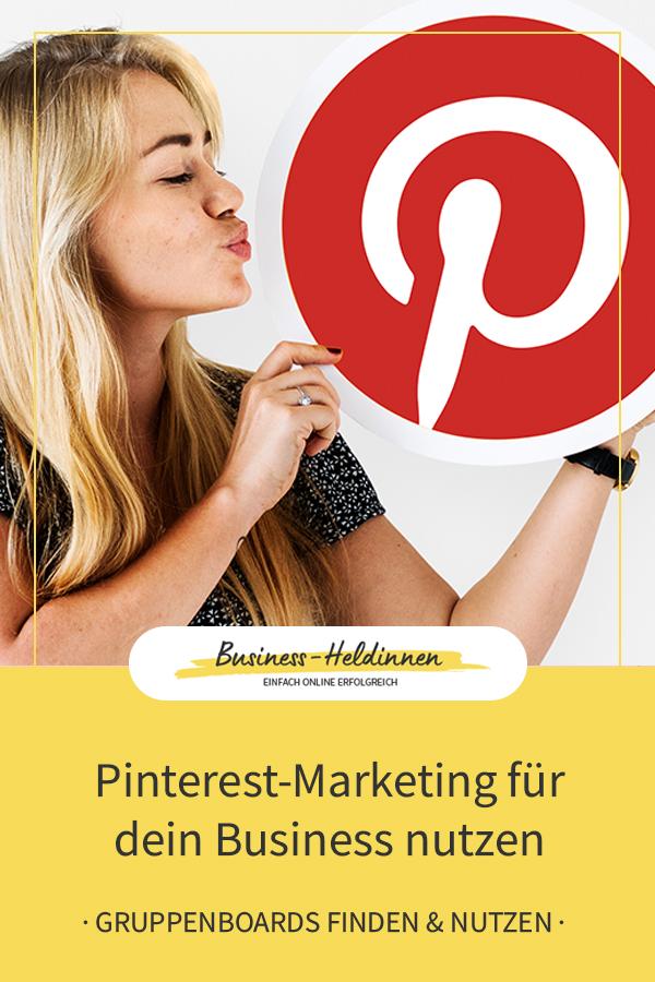 Pinterest-Marketing für dein Business: Gruppenboards für deine Reichweiten-Steigerung nutzen