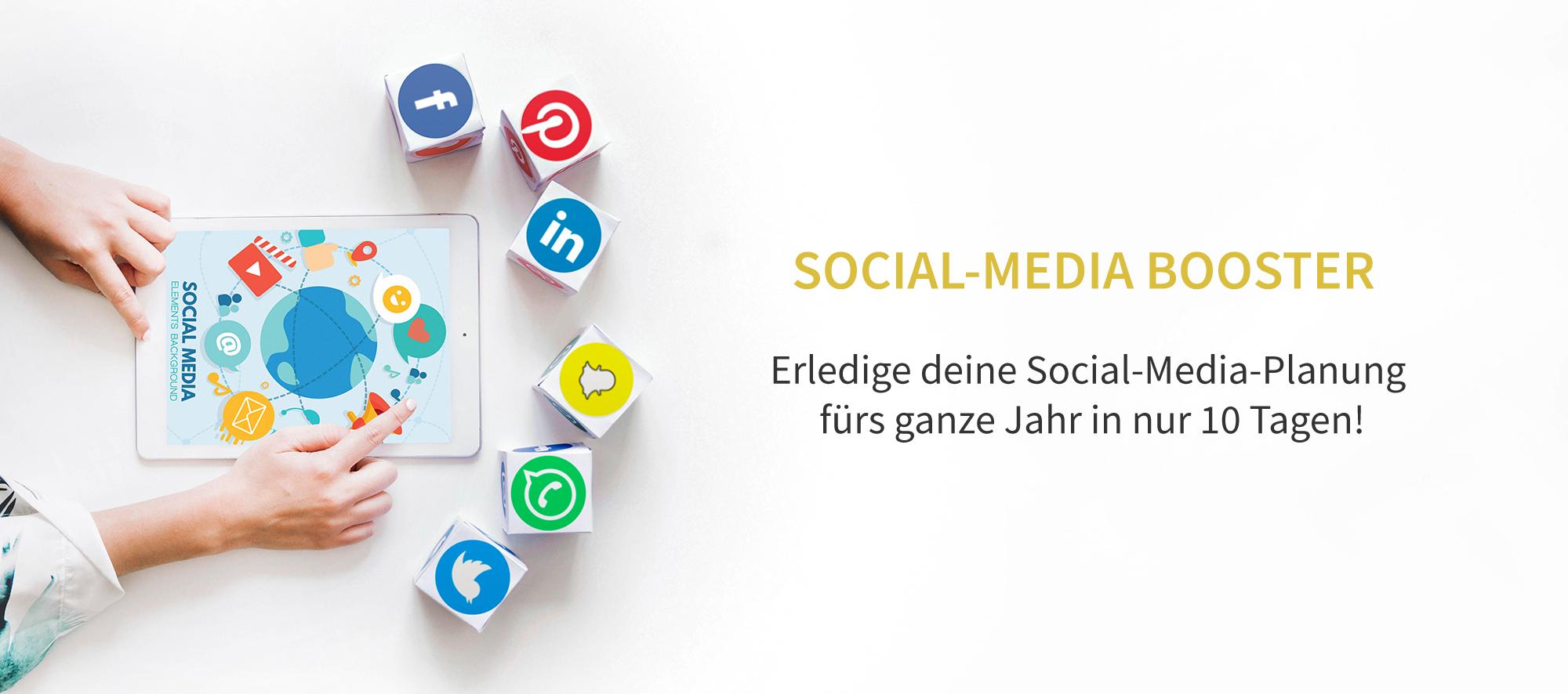 Deine komplette Social-Media-Planung fürs ganze Jahr