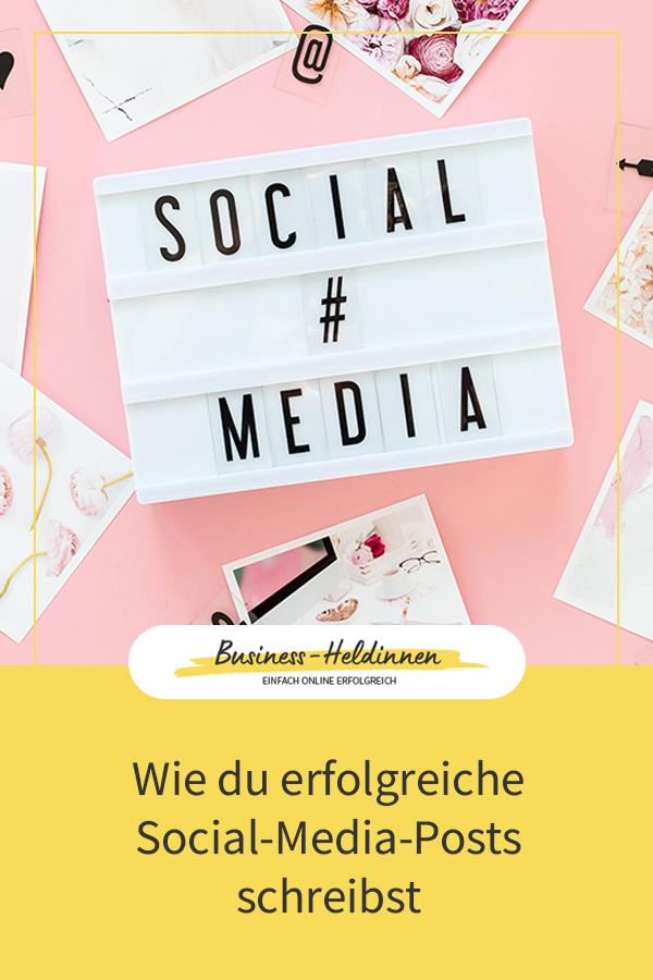 Wie du Social-Media-Beiträge schreibst, die deine Follower lieben werden