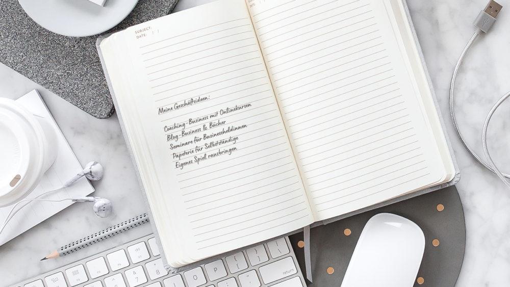 Überzeugende Business-Ideen entwickeln und evaluieren (inkl. Freebie!)