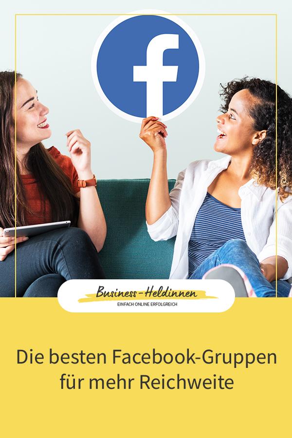Dein Onlinebusiness promoten - Die besten Facebook-Gruppen für mehr Reichweite