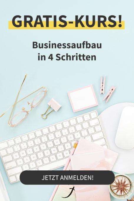 Gratis Email-Kurs: Business aufbauen