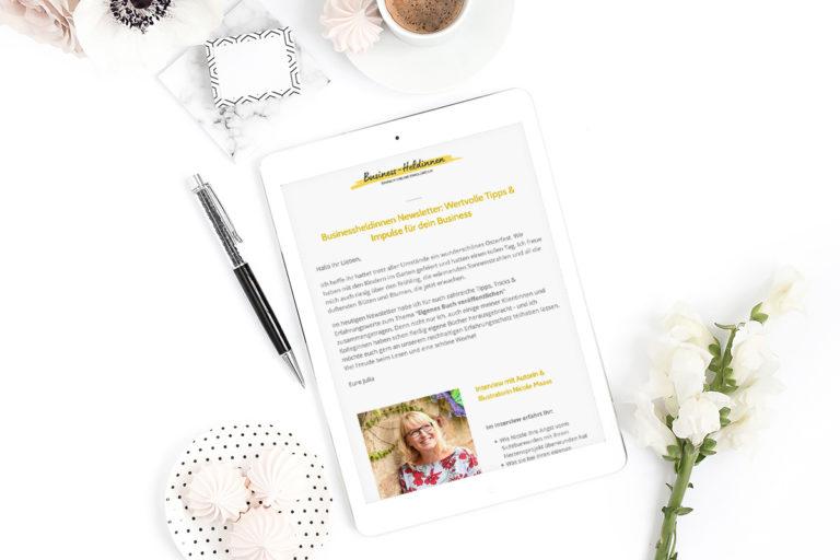 Brauchst du unbedingt einen Newsletter?