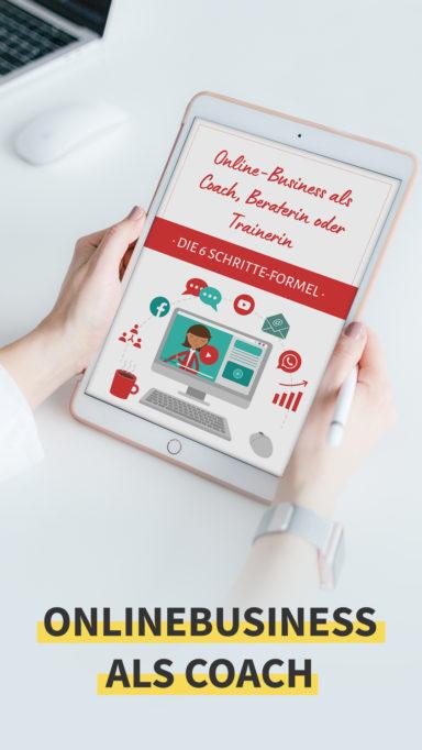 Onlinebusiness als Coach