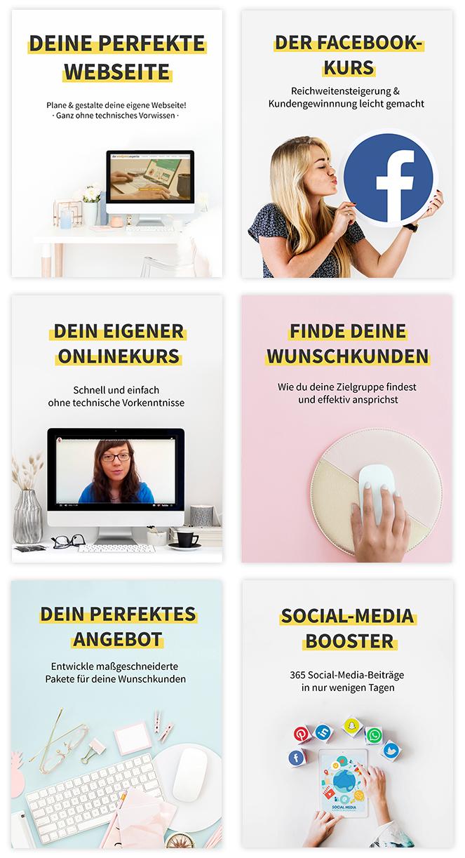Kurse für dein erfolgreiches Onlinebusiness