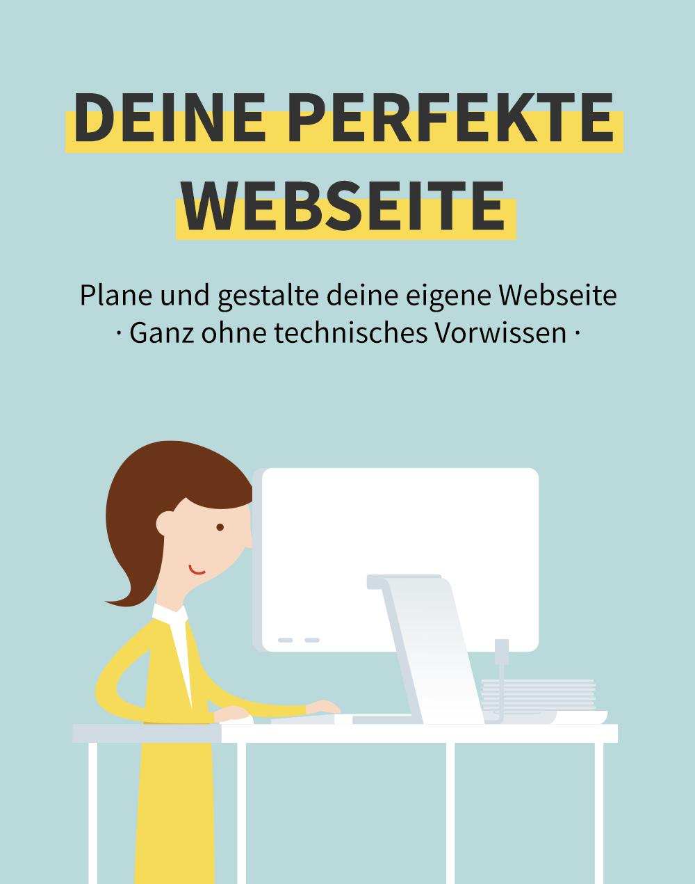 """Onlinekurs """"Deine perfekte Webseite"""""""