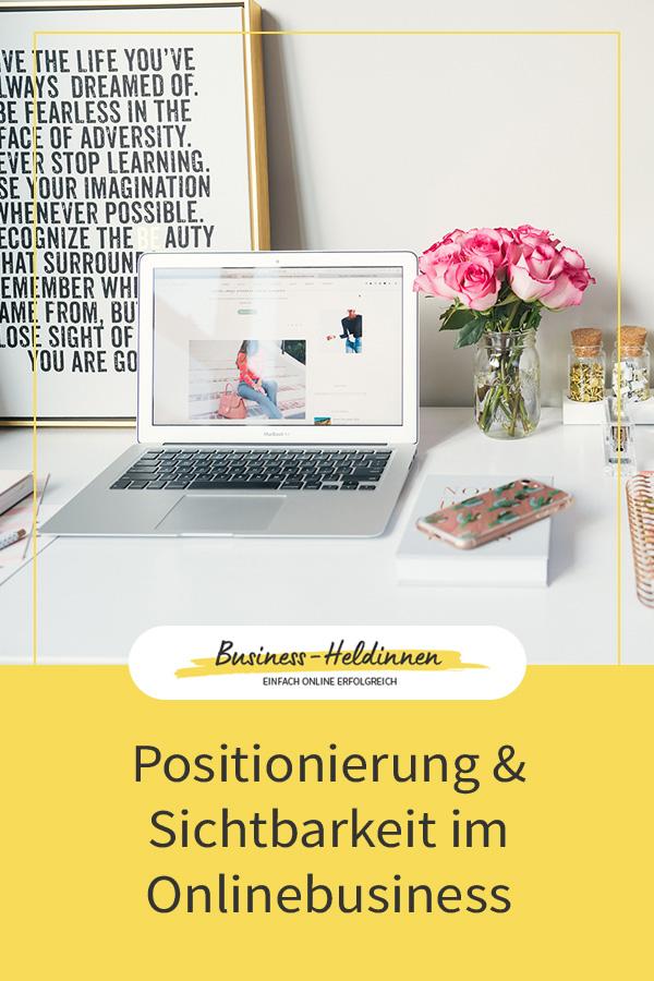 Positionierung und Sichtbarkeit im Onlinebusiness