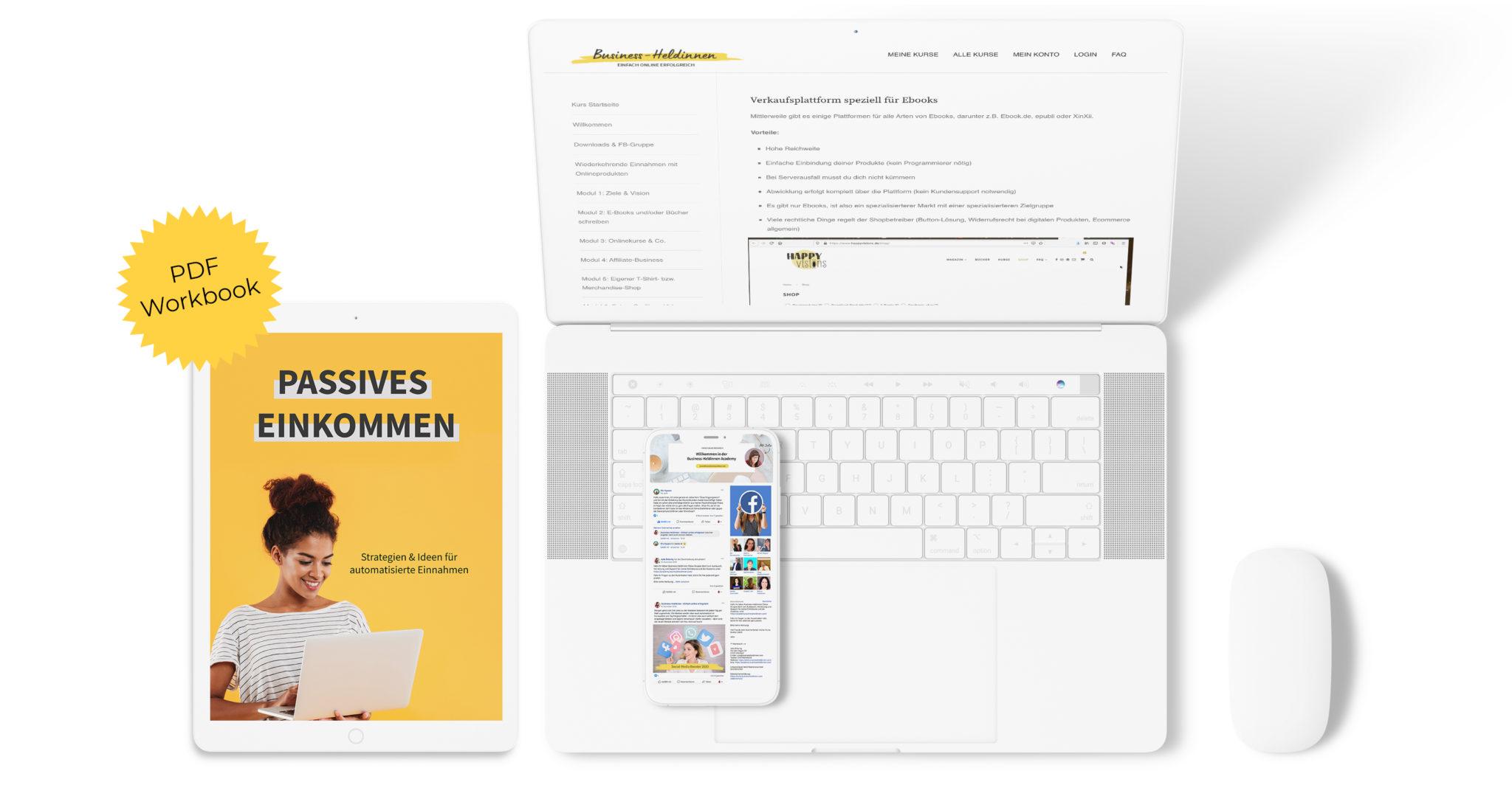 Passives Einkommen Onlinebusiness