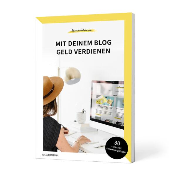 """Taschenbuch """"Mit deinem Blog Geld verdienen"""""""