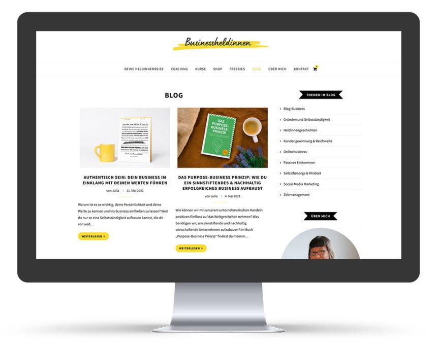Businessheldinnen Blog