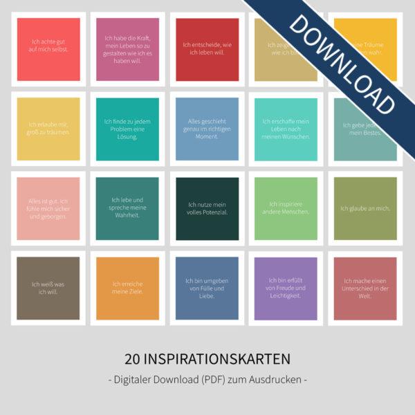 "Inspirationskarten - ""Colors"" (Digital Download)"