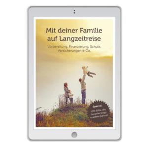 """E-Book """"Mit deiner Familie auf Langzeitreise"""""""