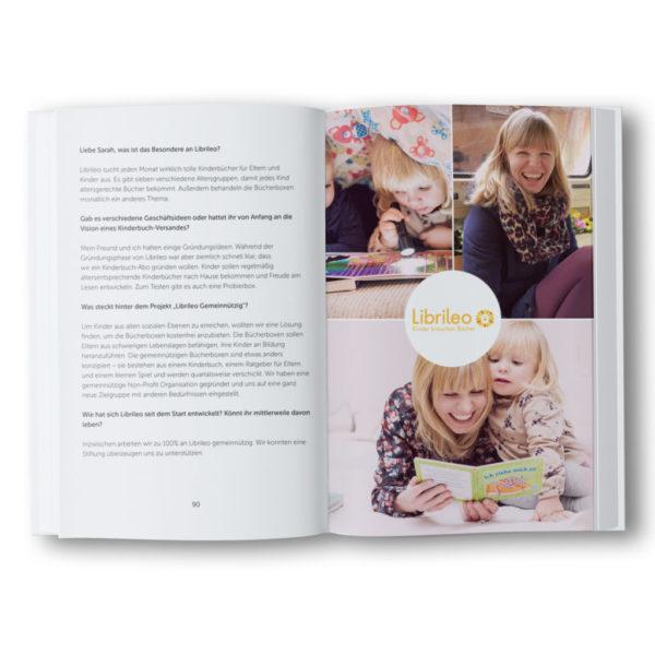 """Taschenbuch """"Mompreneurs: Selbstständig mit Kind"""""""