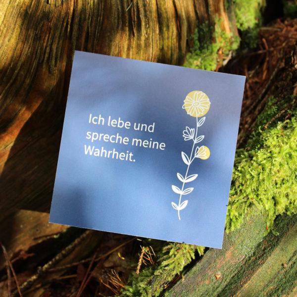 "Inspirationskarten ""Flowers"""