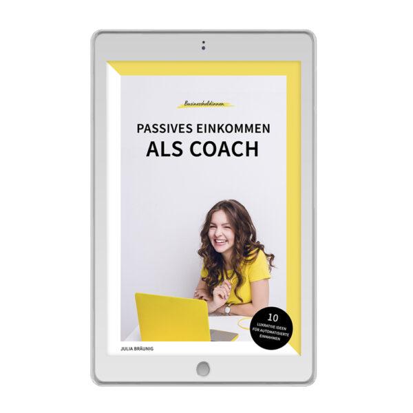 """E-Book """"Passives Einkommen als Coach"""""""